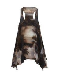 AllSaints - Black Nirvana Vest - Lyst