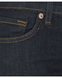 J Brand - Blue Indigo Low Rise Pencil Leg Jeans - Lyst
