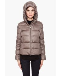Moncler - Gray Hooded Jersey Jacket - Lyst