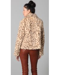 Rory Beca Multicolor Moss Fur Jacket
