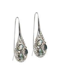 Alexis Bittar | Metallic Small Labradorite Teardrop Earrings | Lyst
