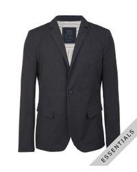 AllSaints - Blue Stafford Jacket for Men - Lyst