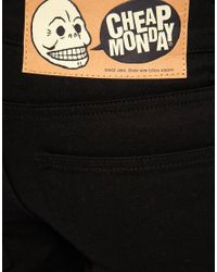 Cheap Monday | Tight Od Black Jeans for Men | Lyst