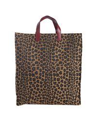 Fendi - Multicolor Tobacco Leopard Canvas Selleria Top Handle Tote - Lyst