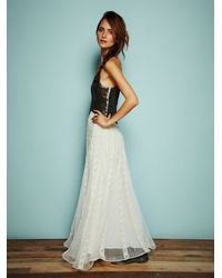 Free People | Black Kristins Limited Edition Glamour Dress | Lyst