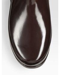 HUNTER - Black Regent Rain Boot (wide Calf) - Lyst