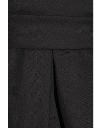 Martin Grant - Black Twill Bell-shaped Dress - Lyst