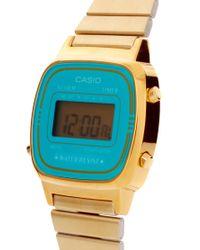 G-Shock - Blue Mini La670 Watch - Lyst