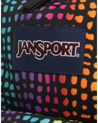 Jansport - Multicolor Backpack With Neon Print for Men - Lyst