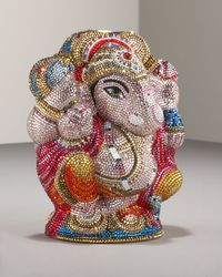 Judith Leiber - Metallic Ganesh Collectors Minaudiere - Lyst