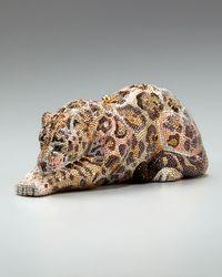 Judith Leiber - Multicolor Jaguar Minaudiere - Lyst