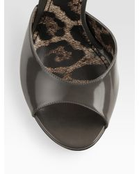 Dolce & Gabbana - Gray Pinstripe Gilet - Lyst