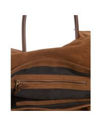 Proenza Schouler | Brown Large Suede Ps1 Keep All | Lyst