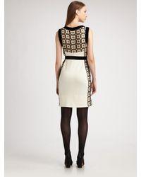 Tory Burch - Natural Denise Lace Sheath Dress - Lyst