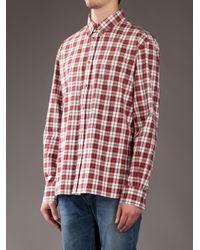 A.P.C. White 50s Shirt for men