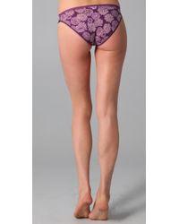 Calvin Klein | Purple Naked Glamour Bikini Briefs | Lyst