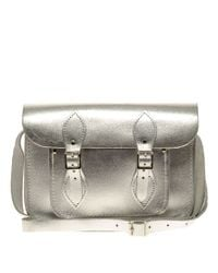 Cambridge Satchel Company | Silver Metallic Satchel | Lyst
