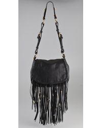 CC SKYE | Black Leight Luxe Fringe Bag | Lyst