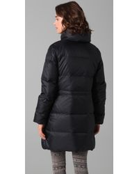 Club Monaco - Black Viven Puffer Coat - Lyst