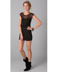 Free People - Black Lurex Starlight Party Dress - Lyst
