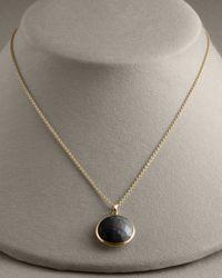 Ippolita - Black Onyx Lollipop-pendant Necklace - Lyst