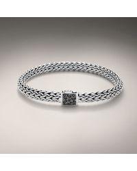 John Hardy | Black Medium Bracelet for Men | Lyst
