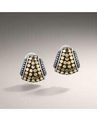 John Hardy - Metallic Hiway Earrings - Lyst