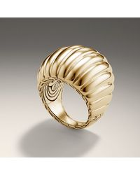 John Hardy | Metallic Dome Ring | Lyst