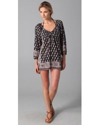 Joie | Black A La Plage Marci Tunic Cover Up | Lyst