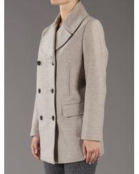 By Malene Birger Natural Massia Melange Coat