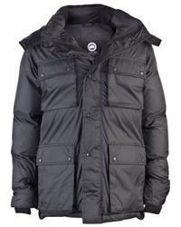 Canada Goose Black Manitoba Jacket for men