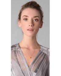 Gorjana Metallic Morocco Ring Necklace