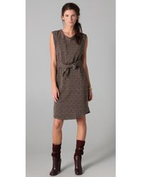 Marc By Marc Jacobs | Brown Camille Blossom Dress | Lyst