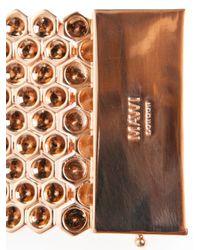 Mawi - Metallic Honeycomb Cuff - Lyst