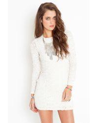 Nasty Gal | White Confetti Dress - Ivory | Lyst