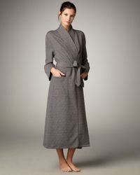 Natori | Gray Beijing Quilted Robe | Lyst