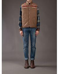 Pendleton Brown Cody Vest for men