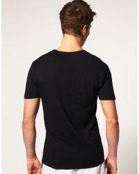 PUMA | Black 2 Pack V Neck T Shirts for Men | Lyst