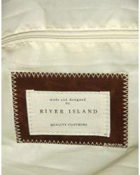River Island | Black Holdall for Men | Lyst