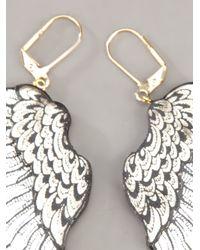 Rosita Bonita - Metallic Wing Earring - Lyst