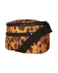 TOPSHOP | Brown Leopard Print Bumbag By Ashish** | Lyst