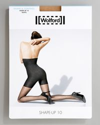 Wolford | Black Power Shape Tights | Lyst