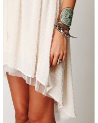 Free People - White New Romantics Confetti Lace Dress - Lyst
