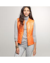 J.Crew | Orange Authier® Solid Ripstop Vest | Lyst