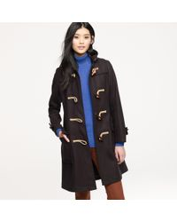 J.Crew - Blue Gloverall® Toggle Coat - Lyst