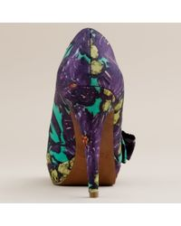 J.Crew - Multicolor Paulina Pumps Nightfall Floral - Lyst