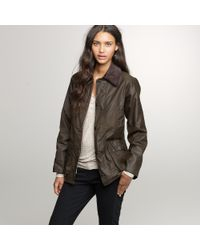 J.Crew - Green Barbour® Classic Bedale Jacket - Lyst