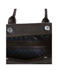 Longchamp - Black Leather Balzane Handbag - Lyst