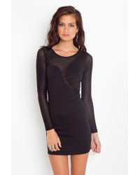 Nasty Gal | Black Seeing Stripes Dress | Lyst