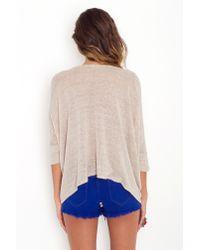 Nasty Gal - Blue Friday Night Cutoff Shorts - Cobalt - Lyst